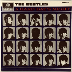 8. BEATLES-A HARD DAY'S NIGHT(MONO) -1964-ПЕРВЫЙ ПРЕСС UK-PARLOPHONE-NMINT/NMINT