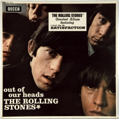 35. ROLLING STONES-OUT OF OUR HEADS-1965-(EXPORT STEREO) ОРИГИНАЛ 1968 UK-DECCA-NMINT/NMINT
