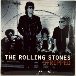 42. ROLLING STONES-STRIPPED-1995-ПЕРВЫЙ ПРЕСС UK-VIRGIN-NMINT/NMINT