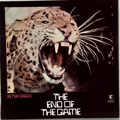 21. GREEN, PETER-THE END OF THE GAME-1970-ОРИГИНАЛЬНЫЙ ПРЕСС 1972  UK-REPRISE-NMINT/NMINT